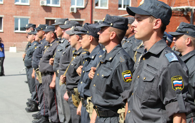 Полиция современной России