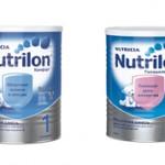 Чем отличается Нутрилон 1 от Нутрилон 2: сравнение и отличия