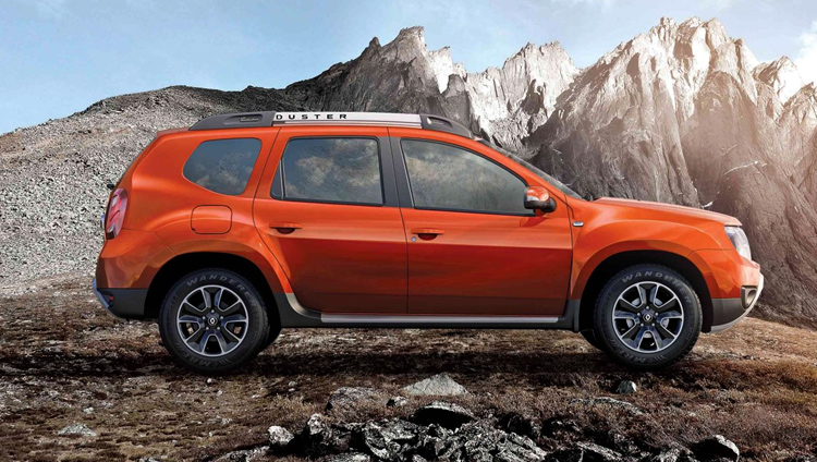 Renault Duster в горах