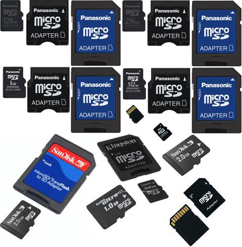 Много SD карт