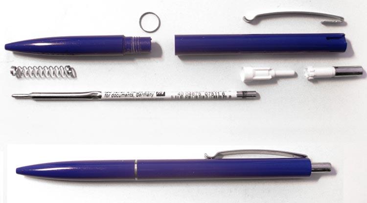 Современная шариковая ручка