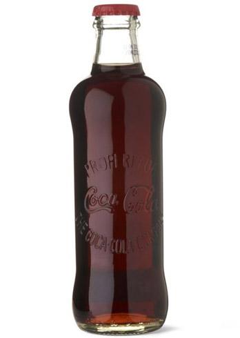 Первая бутылка кока-колы