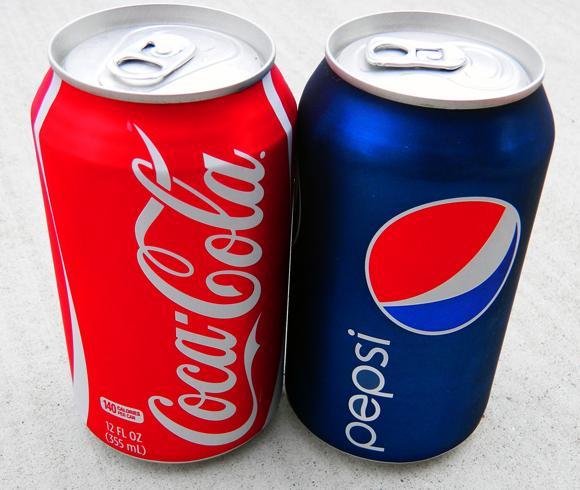 Кока кола и пепси