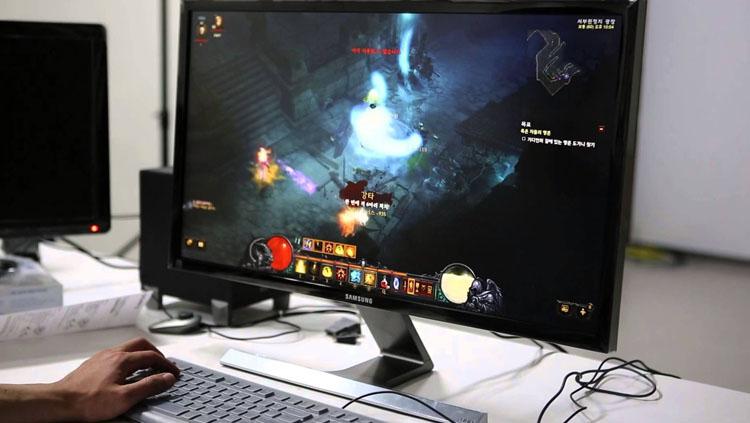 Современный игровой монитор