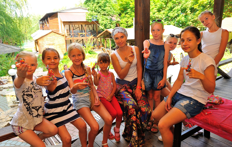 Лагерь для детей