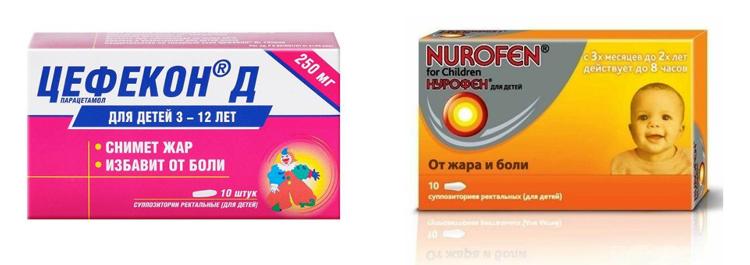 Цефекон или Нурофен