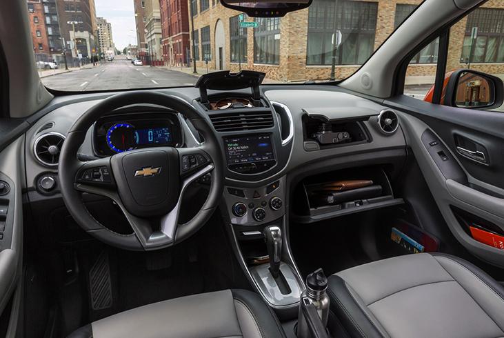 Chevrolet Niva внутри