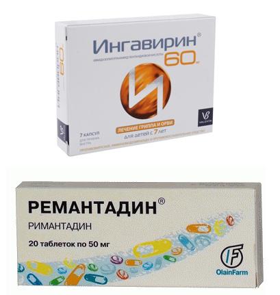 Ингавирин и Ремантадин