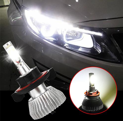 Авто с Led лампами