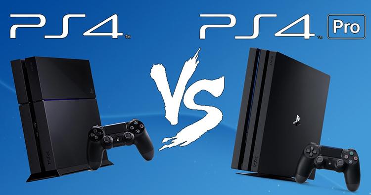 PS4 и PS4 PRO