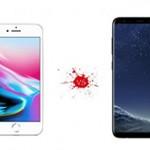 Что лучше выбрать Айфон 8 или Самсунг S8?