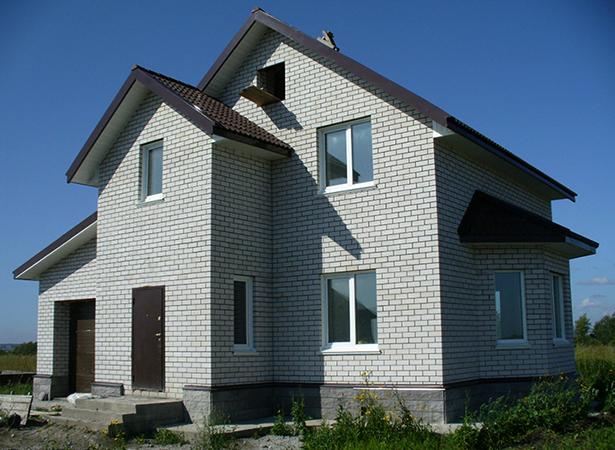 Новый дом из газобетона