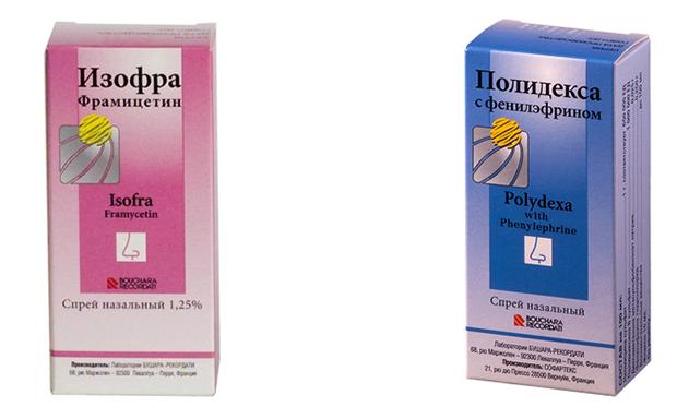 Изофра и Полидекса