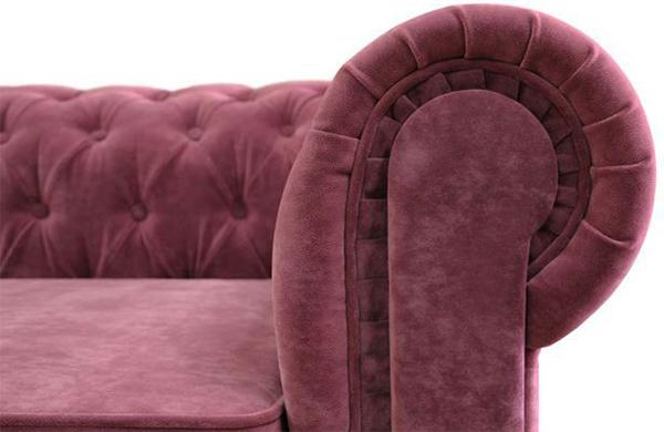 Мебель из велюра