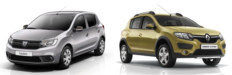 Renault Sandero и Stepway