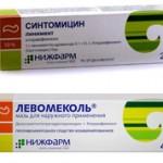 Что лучше взять синтомициновую мазь или левомеколь?