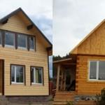 Каркасный и брусовой дом: чем они отличаются и что лучше