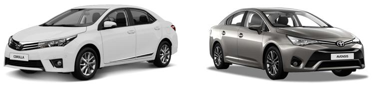 Avensis и Corolla
