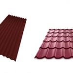 Что лучше выбрать для крыши ондулин или металлочерепицу?