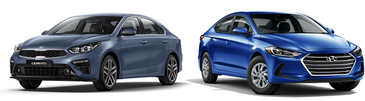 Kia Cerato или Hyundai Elantra