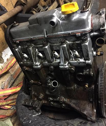 Двигатель на 8 клапанов перед установкой