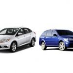 Что лучше купить Форд Фокус или Шевроле Лачетти?