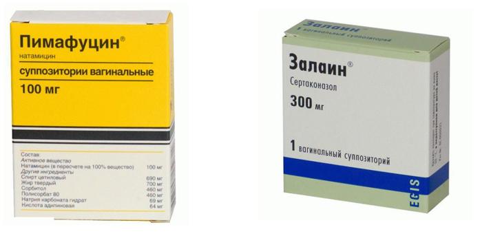Пимафуцин и Залаин