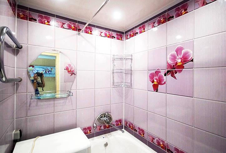 ПВХ панели в ванной
