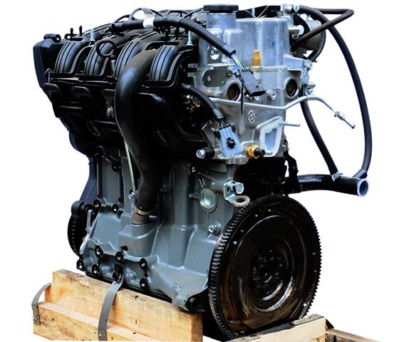 Двигатель на 16 клапанов перед установкой