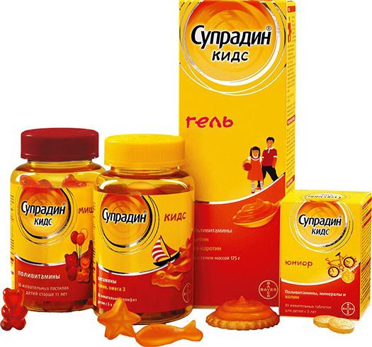 Супрадин кидс