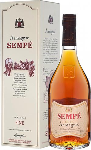 Бутылка арманьяка