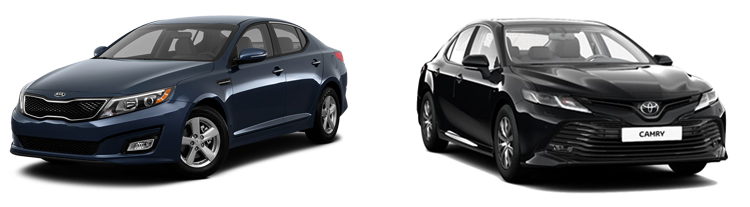 KIA Optima или Toyota Camry
