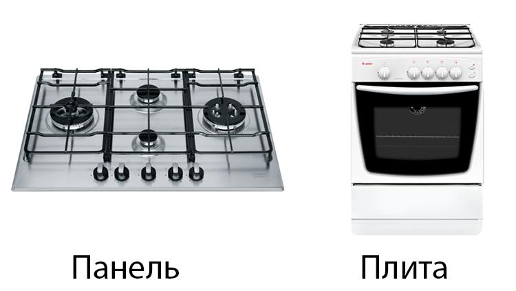Панель и плита