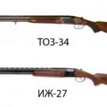 ТОЗ-34 или ИЖ-27 — сравнение ружей и что лучше
