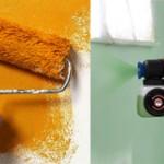 Чем лучше красить стены валиком или краскопультом?