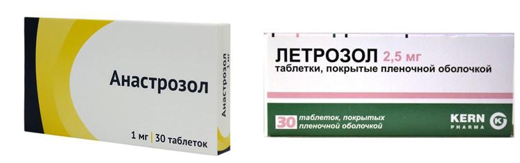 «Анастрозол» и «Летрозол»