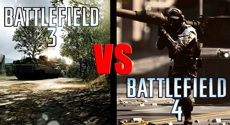 Battlefield 3 и Battlefield 4