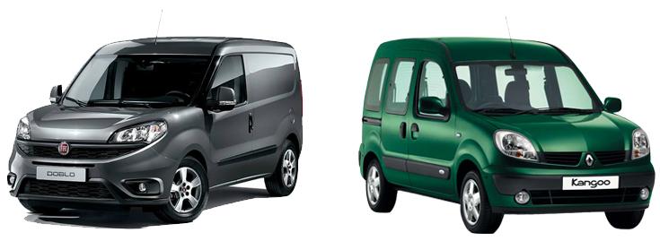Fiat Doblo и Renault Kangoo