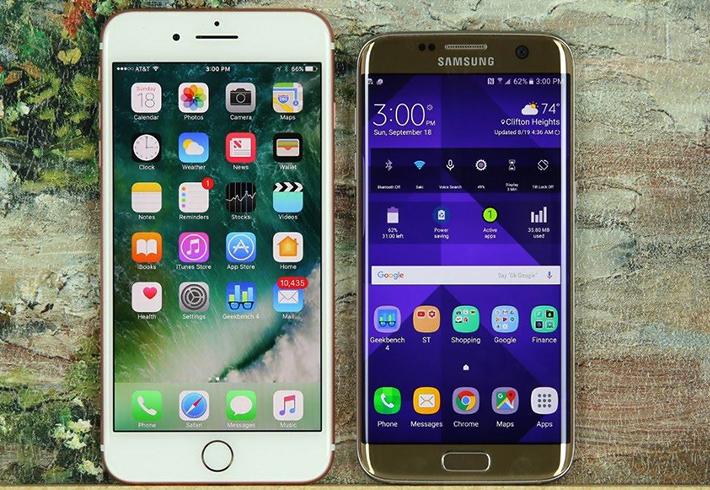 Айфон 7 и Самсунг S7