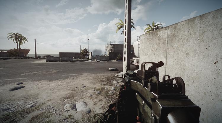 Игра в Battlefield 3