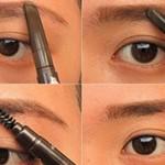 Чем лучше красить брови тенями или карандашом?