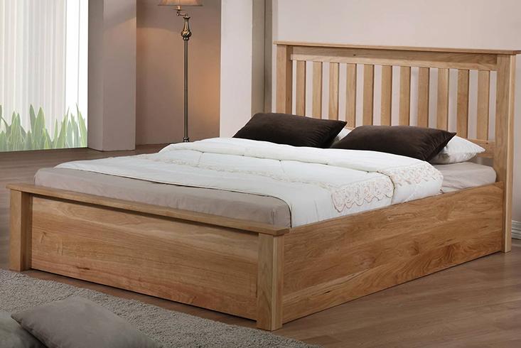 Кровать из березы