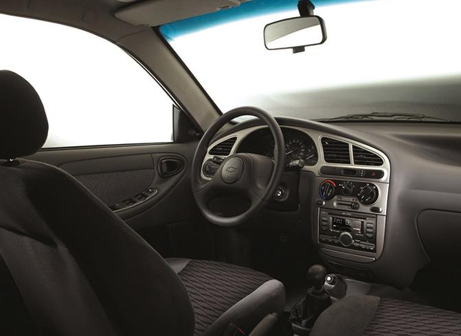 Салон Chevrolet Lanos