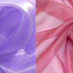 Какой материал лучше органза или вуаль?