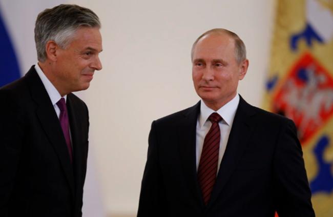 Посол США в России