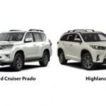 Toyota Land Cruiser Prado или Toyota Highlander: сравнение и что лучше?