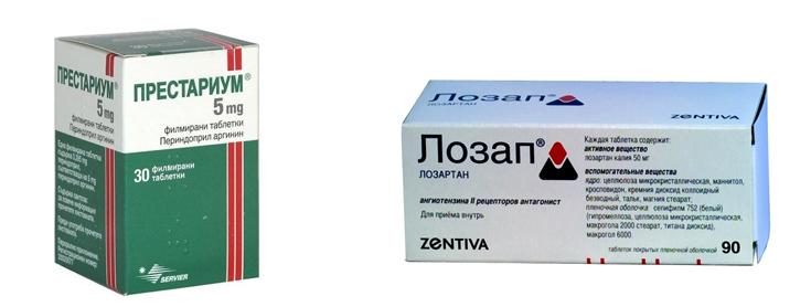 Престариум и Лозап