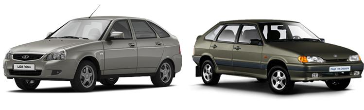 Приора и ВАЗ-2114