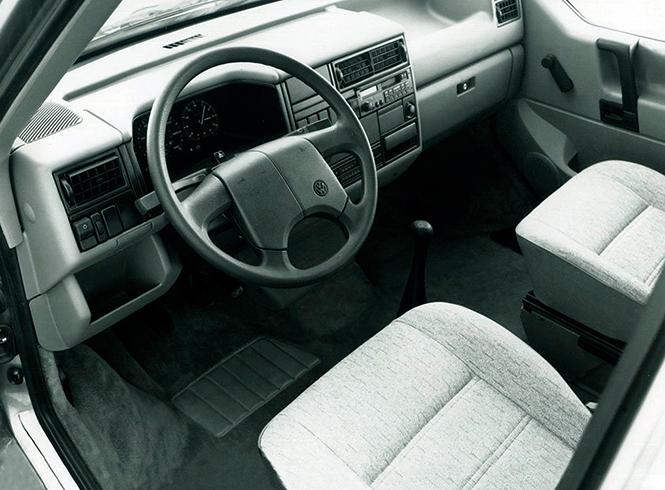 Салон Volkswagen Transporter