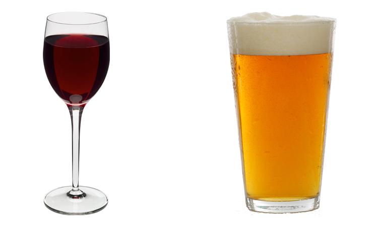 Вино и пиво